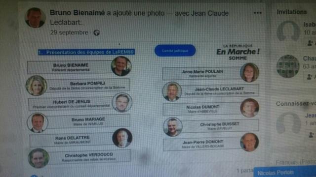 Christophe Buisset , président de la chambre régionale d' agriculture des hauts de France sur la liste LREM européennes   Liste_10