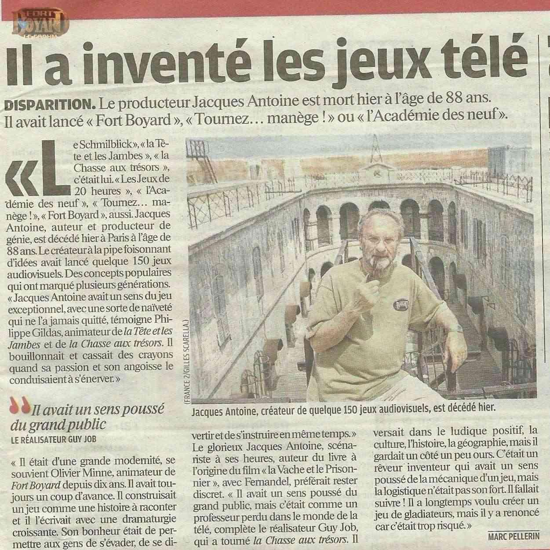 Décès de Jacques ANTOINE - Page 2 Numari10