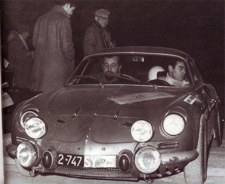 Rallye de l'ouest 1966 / 1967 A110_310