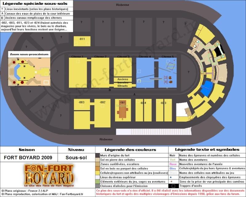 Réalisation du plan des souterrains de Fort Boyard (version 2010) - Page 2 Copie_11