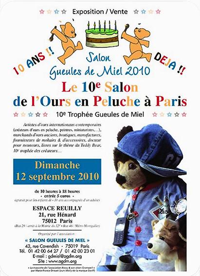 Salon de Gueule de Miel 2010 à Paris Cp201010