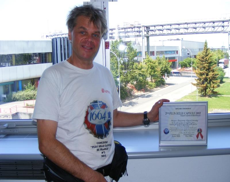 PBCA 2012 - Remise du deuxième prix - Kronenbourg Dscf9411