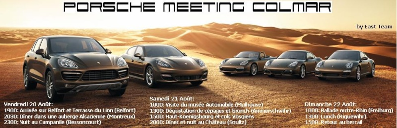 Programme Porsche Meeting Colmar - 21 & 22 Aout 2010 Colmar14