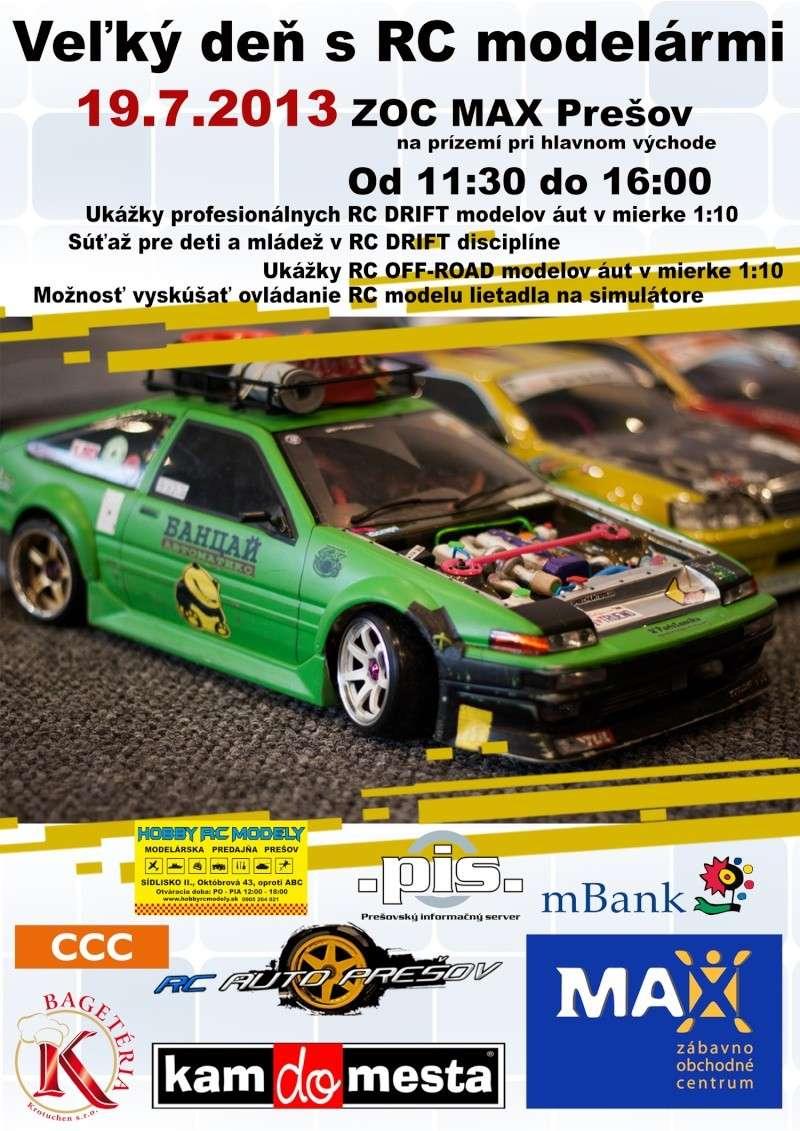 Veľký deň s RC modelármi - ZOC MAX Prešov - 19.7.2013 Plagat12