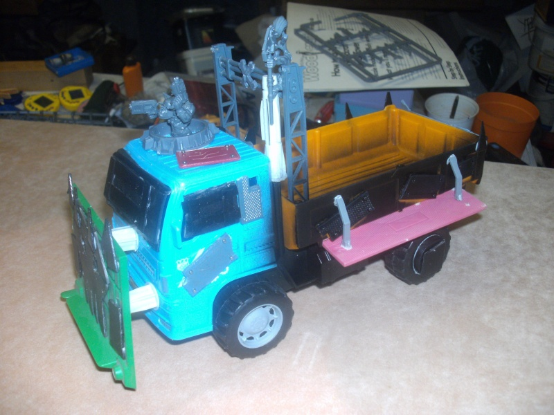 Mes Trucks...non, Chariots de guerre Orks Trucks11