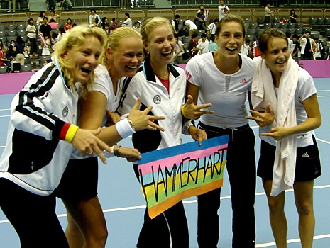 Andrea  Petkovic  Fans  Club Fedcup11