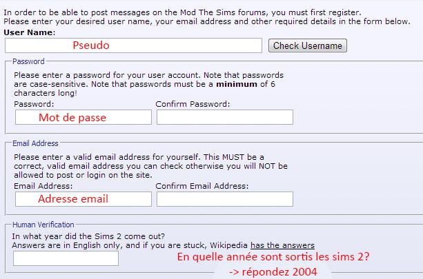 [Fiche] S'inscrire sur Mod The Sims 511