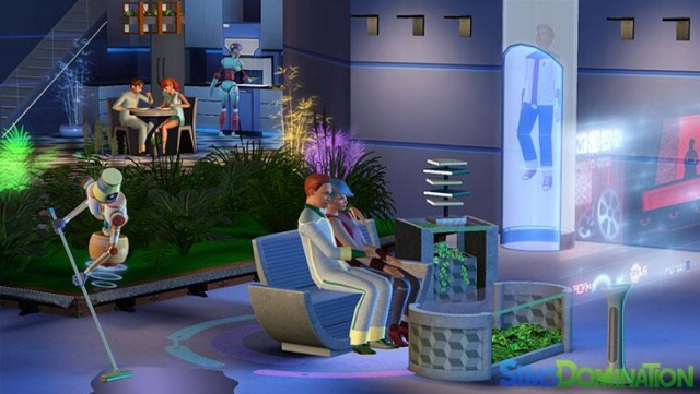 Les Sims 3 into the future - dernier add-on  Les-si11