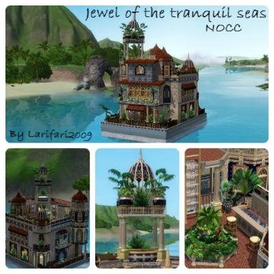 [Inspiration] [Sims 3] Maisons-bateaux - Page 2 Roof_u10