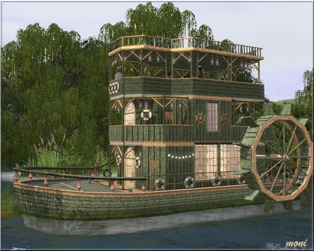 [Inspiration] [Sims 3] Maisons-bateaux - Page 2 Screen17