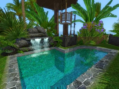 [Inspiration] [Sims 3] Piscines Tumblr11