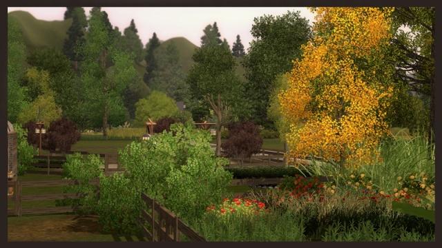 [Inspiration] [Sims 3] Les parcs Tumblr13