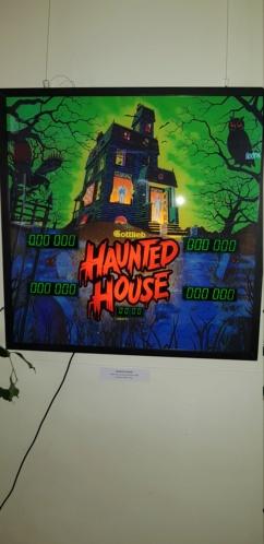 Une backglass Haunted House en déco 20190511