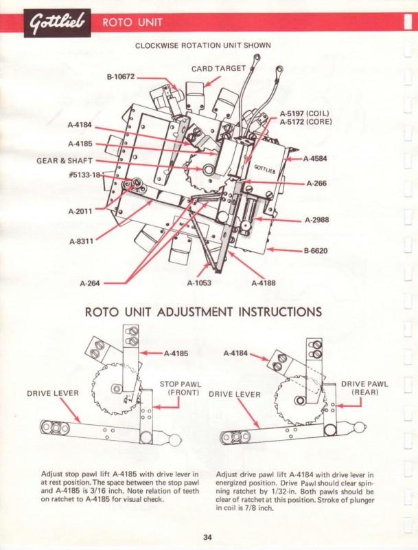 """Remise en route d'un Gottlieb """"Torch"""" - Page 4 Roto-u10"""