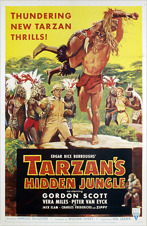 Tarzan's Hidden Jungle (1955)  55-pos10