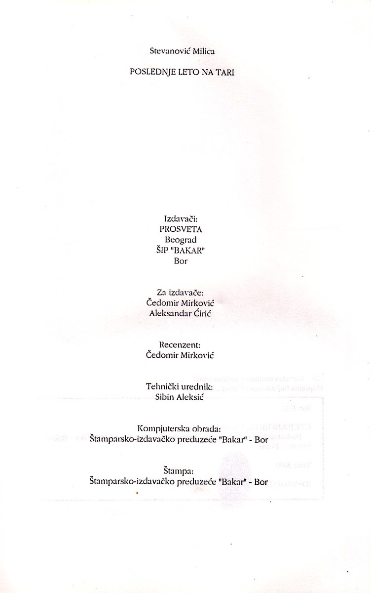 Poslednje Leto Na Tari (Nastavak Romana Prohujalo Sa Vihorom) 972_x110