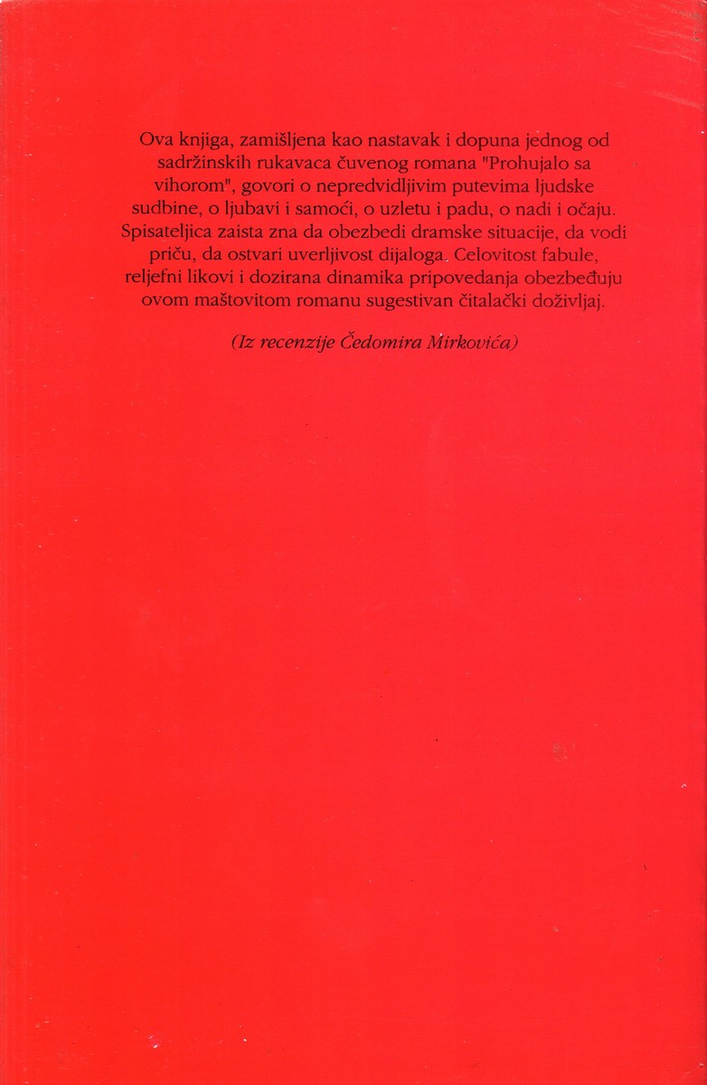 Poslednje Leto Na Tari (Nastavak Romana Prohujalo Sa Vihorom) 972_x310