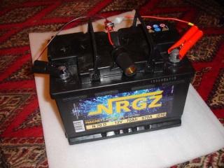 Caisse de transport pour batterie 00110