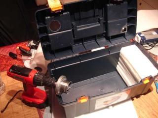 Caisse de transport pour batterie 00810