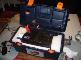Caisse de transport pour batterie 01210