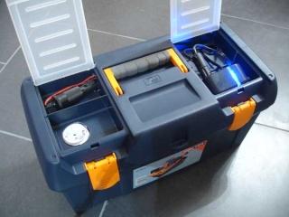 Caisse de transport pour batterie 01410