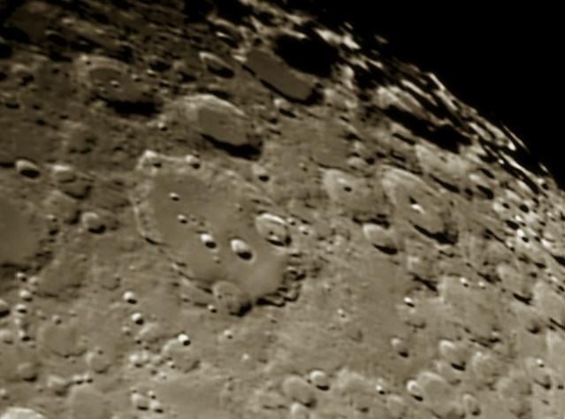 Cratère Clavius différents traitements 11011510