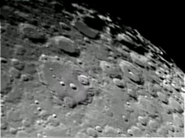Cratère Clavius différents traitements 11l2-110