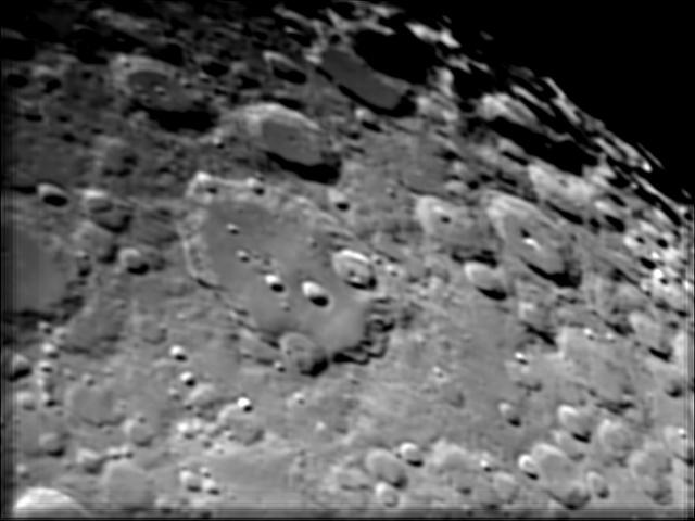 Cratère Clavius différents traitements 11l2-111