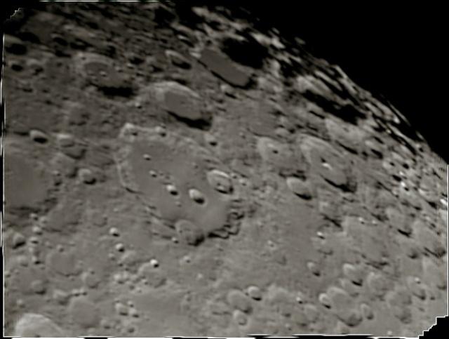 Cratère Clavius différents traitements 11l2-112