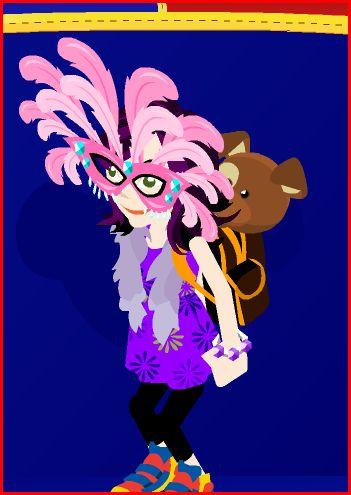 Flamingo Mask! ^-^ Flamin10
