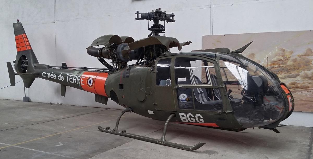 Le Musée de l'A.L.A.T. & de l'Hélicoptère à Dax 20190512