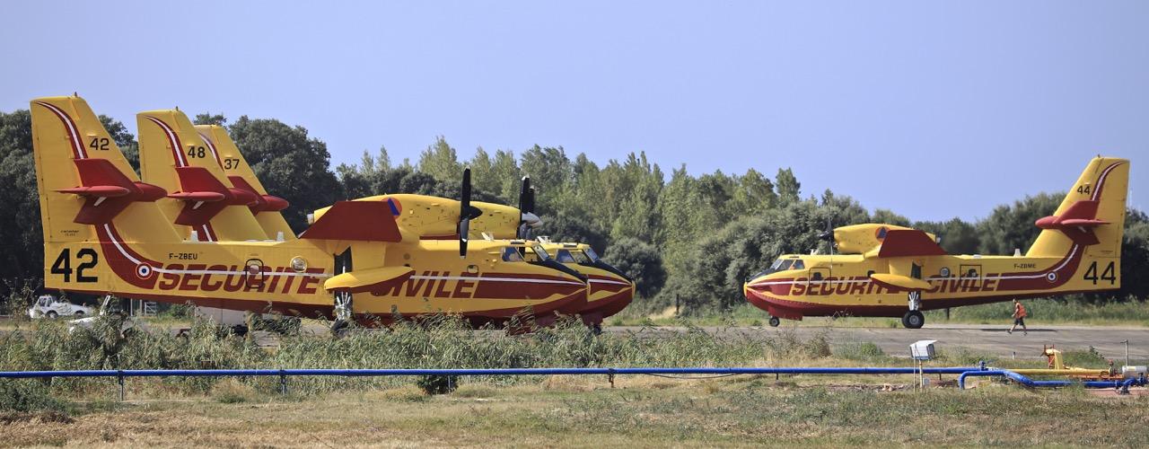 En JAUNE, ROUGE & BLANC, les aéronefs de la Sécurité civile en Corse en 2018. - Page 3 Img_1049