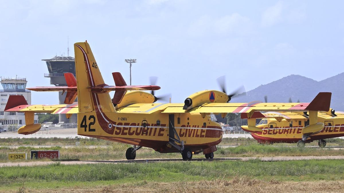 En JAUNE, ROUGE & BLANC, les aéronefs de la Sécurité civile en Corse en 2018. - Page 4 Img_1054
