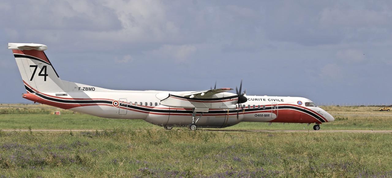 En JAUNE, ROUGE & BLANC, les aéronefs de la Sécurité civile en Corse en 2018. Img_7223