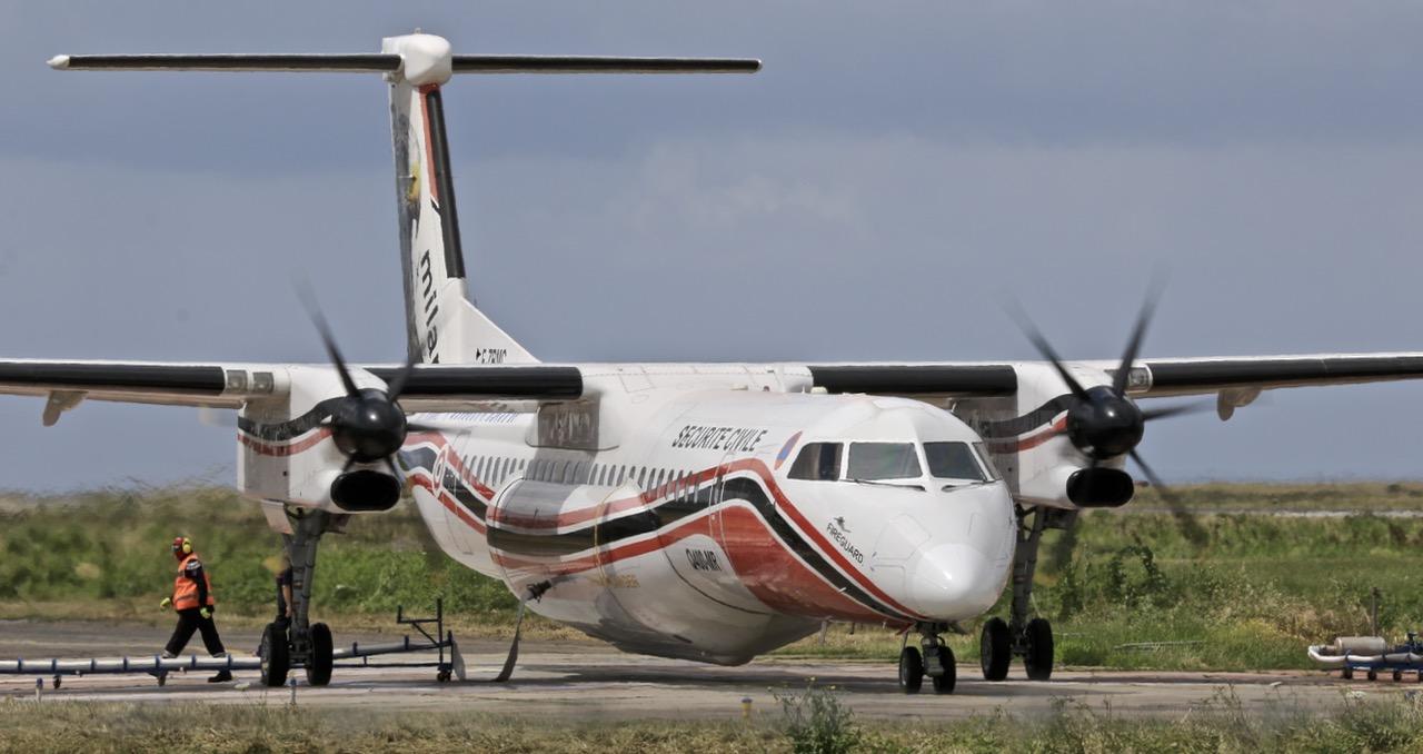 En JAUNE, ROUGE & BLANC, les aéronefs de la Sécurité civile en Corse en 2018. Img_7313