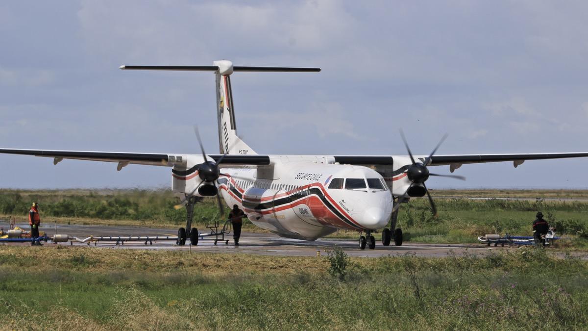 En JAUNE, ROUGE & BLANC, les aéronefs de la Sécurité civile en Corse en 2018. Img_7320