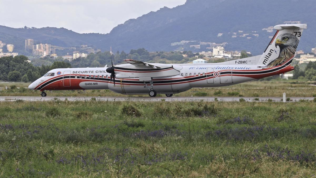 En JAUNE, ROUGE & BLANC, les aéronefs de la Sécurité civile en Corse en 2018. Img_7321