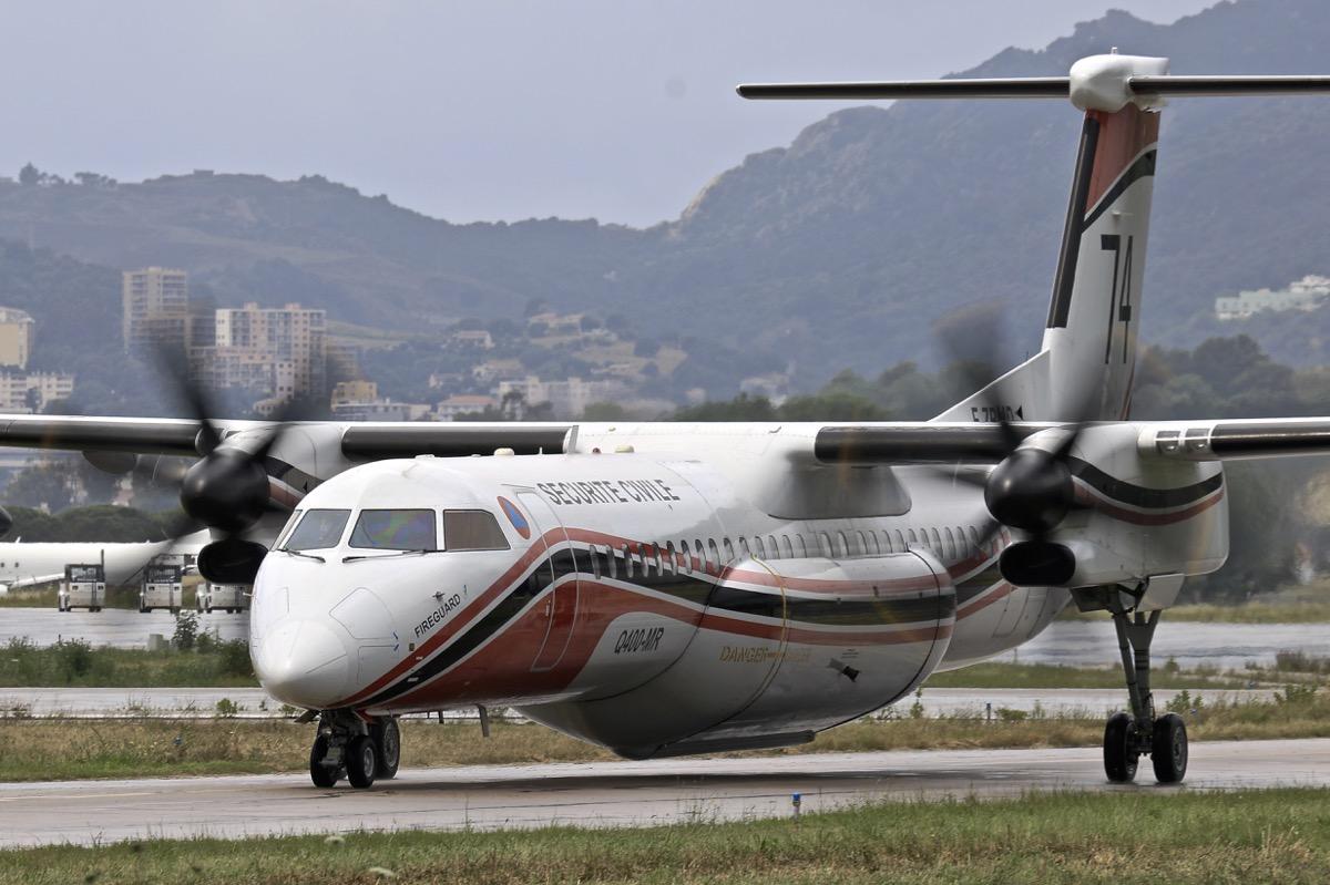 En JAUNE, ROUGE & BLANC, les aéronefs de la Sécurité civile en Corse en 2018. - Page 2 Img_7418