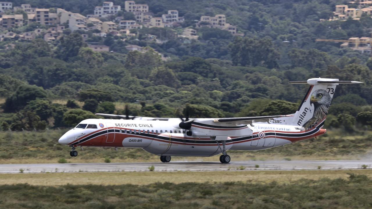 En JAUNE, ROUGE & BLANC, les aéronefs de la Sécurité civile en Corse en 2018. - Page 4 Img_7421