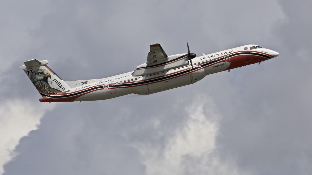 En JAUNE, ROUGE & BLANC, les aéronefs de la Sécurité civile en Corse en 2018. Img_7510