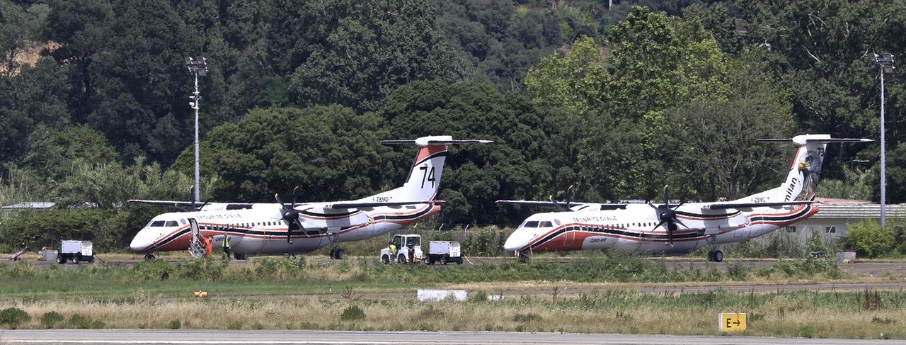 En JAUNE, ROUGE & BLANC, les aéronefs de la Sécurité civile en Corse en 2018. Img_7511