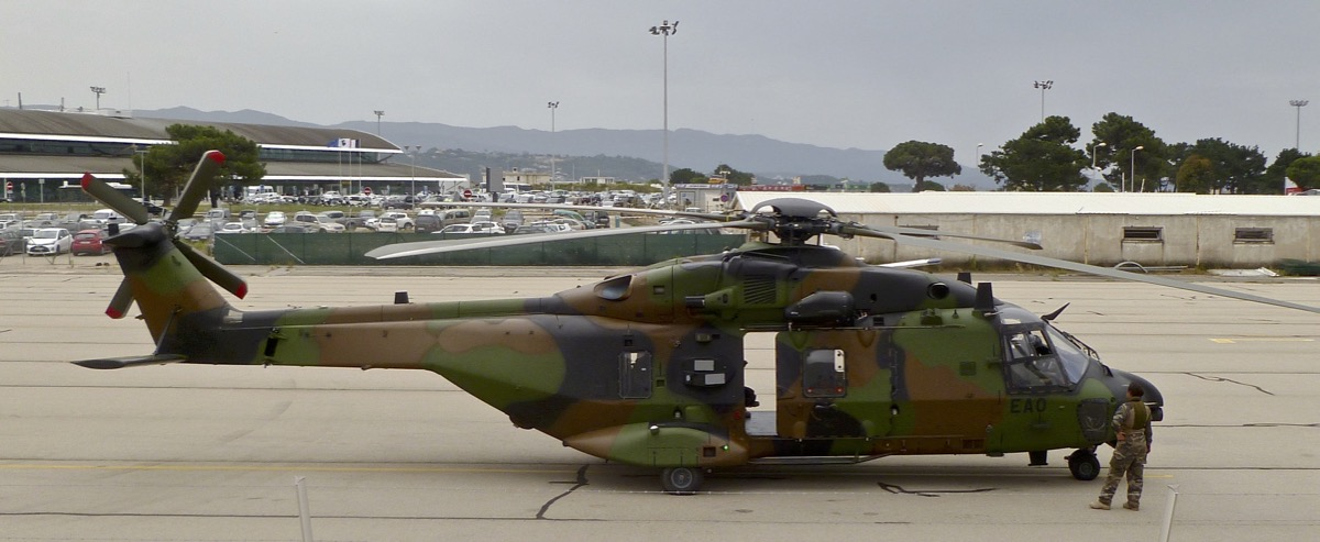 Les Aéronefs Militaires de passage à Ajaccio -2018- P1050910