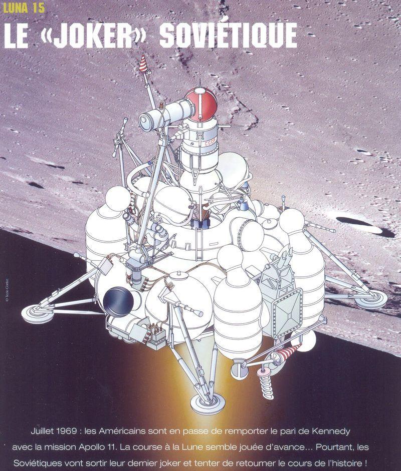 13 juillet 1969 - Luna 15, le joker soviétique 05050010