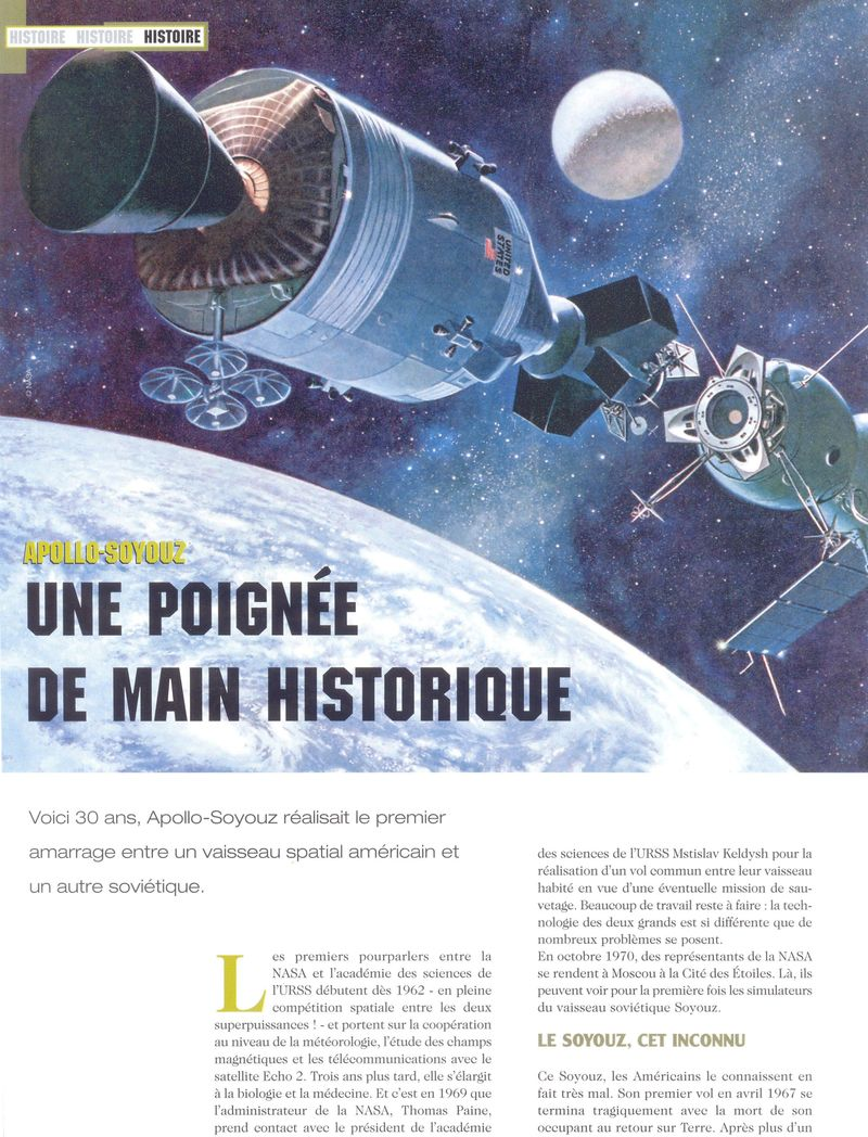 15 juillet 1975 - Mission Apollo - Soyouz 05070010