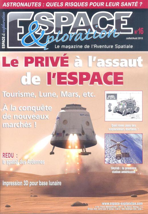 Espace & Exploration n°16 - Le privé à l'assaut de l'espace 13070010