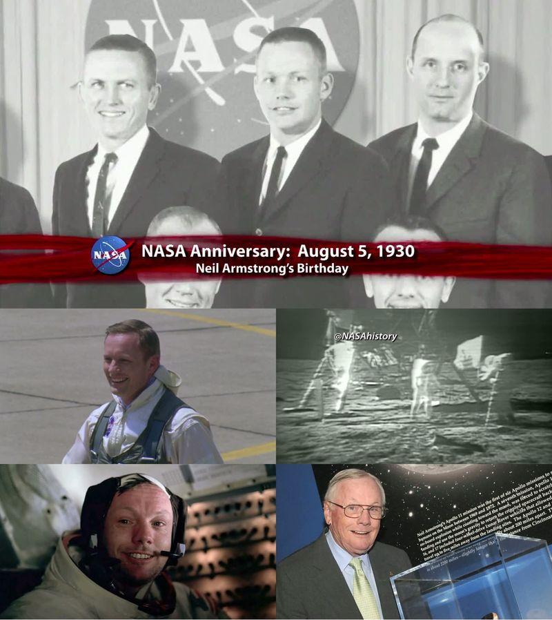 Neil Alden Armstrong - Le premier homme sur la Lune 13080510