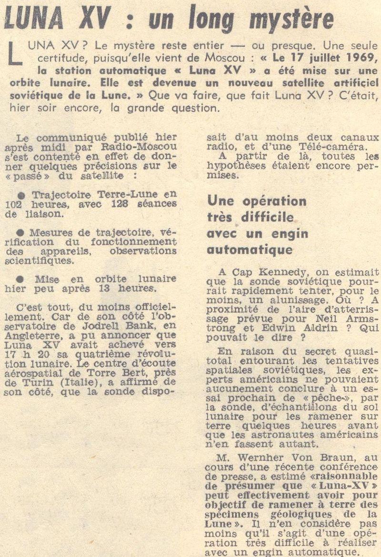 13 juillet 1969 - Luna 15, le joker soviétique 69071810