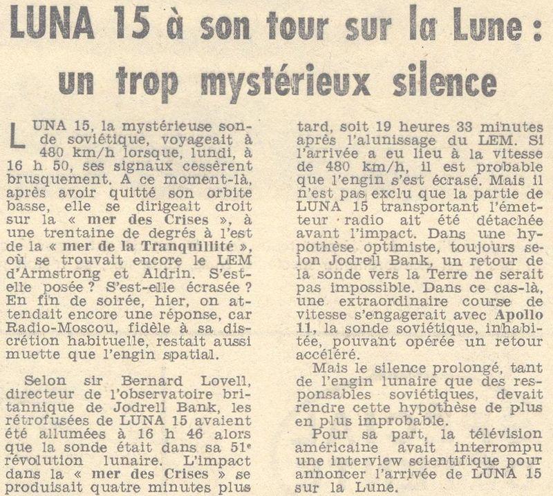 13 juillet 1969 - Luna 15, le joker soviétique 69072210