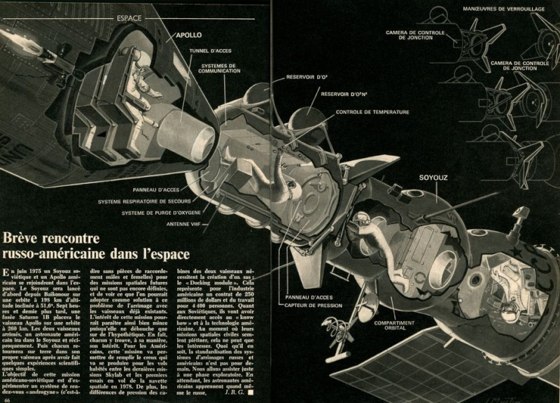 15 juillet 1975 - Mission Apollo - Soyouz 72110010
