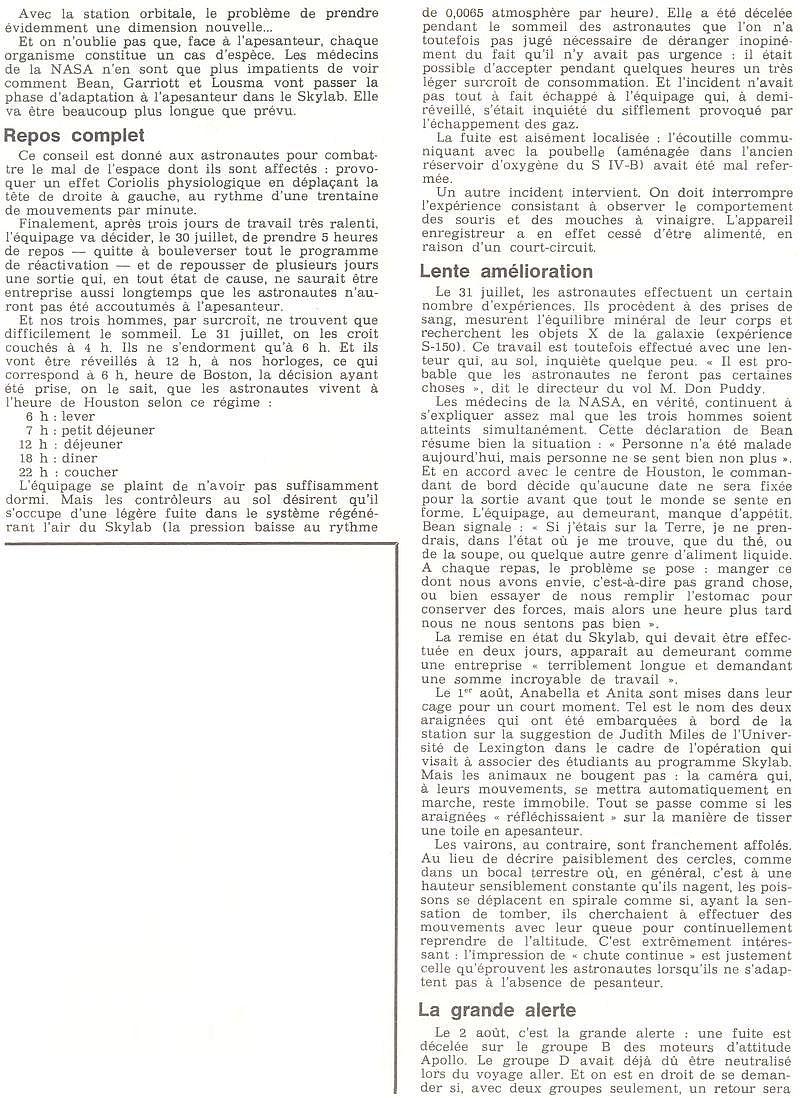 14 mai 1973 - Skylab - Seule station spatiale américaine - Page 2 73090811